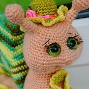 """Куклы и игрушки ручной работы. Ярмарка Мастеров - ручная работа Улитка крючком """"Красотка"""". Handmade."""