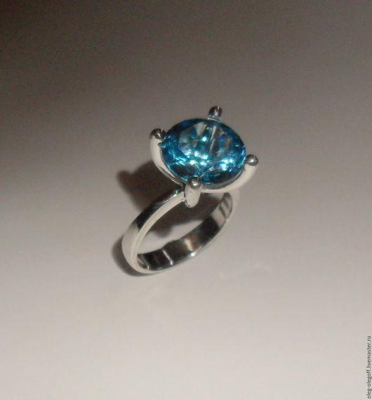 """Кольца ручной работы. Ярмарка Мастеров - ручная работа. Купить кольцо """"Блеск"""" с топазом  (swiss). Handmade. Разноцветный, кольцо, подарок"""