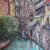 Картины и панно ручной работы. Ярмарка Мастеров - ручная работа Венецианский уголок. Handmade.