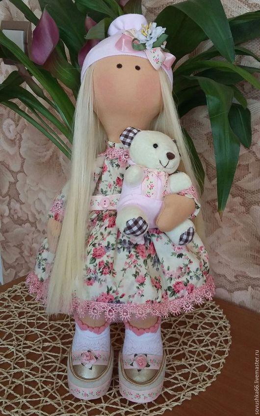 Коллекционные куклы ручной работы. Ярмарка Мастеров - ручная работа. Купить Текстильная куколка. Handmade. Текстильная куколка, тыквоголовка