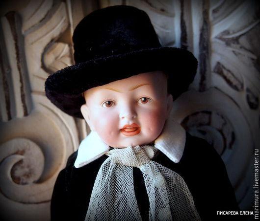 """Винтажные куклы и игрушки. Ярмарка Мастеров - ручная работа. Купить кукла """"Маленький лорд"""". Handmade. Черный, фарфор"""