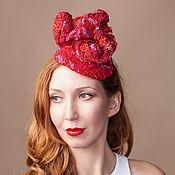 Свадебный салон ручной работы. Ярмарка Мастеров - ручная работа Красная шляпка. Handmade.