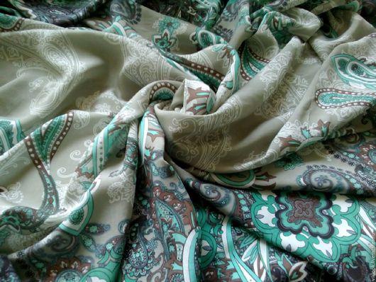 Шитье ручной работы. Ярмарка Мастеров - ручная работа. Купить Ткань отрез 1,5 м., вискоза пейсли 1. Handmade.