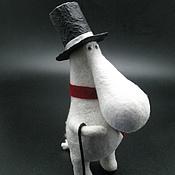 Куклы и игрушки ручной работы. Ярмарка Мастеров - ручная работа Муми-папа. Handmade.
