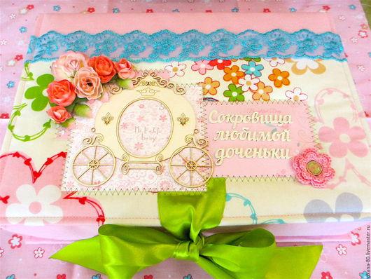 Подарки для новорожденных, ручной работы. Ярмарка Мастеров - ручная работа. Купить Мамины сокровища для девочки. Handmade. Мамины сокровища