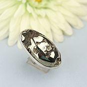 handmade. Livemaster - original item Ring with Ammonite. Silver.. Handmade.