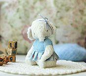 Куклы и игрушки ручной работы. Ярмарка Мастеров - ручная работа Друзья тедди. Слоник Энни. Handmade.