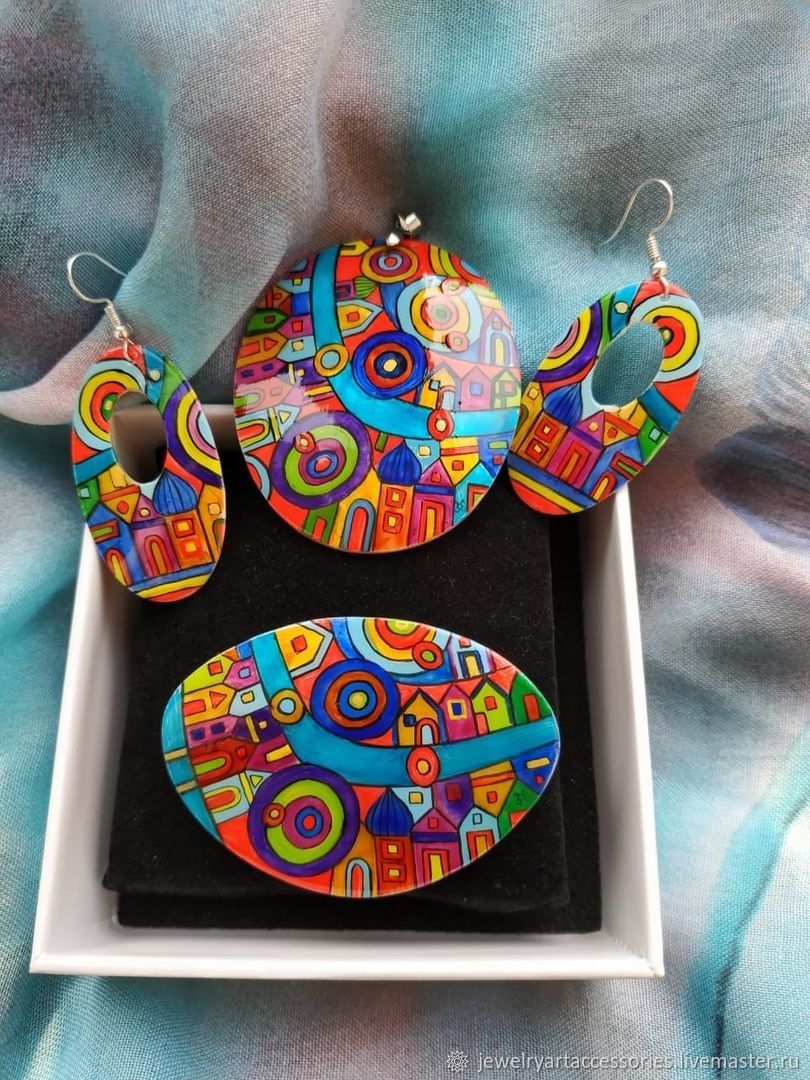 kit: Ornament Hundertwasser, Pendants, Vladimir,  Фото №1