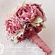 Свадебные цветы ручной работы. Заказать Свадебный букет в стиле Шебби-Шик. Марина Бруня. Ярмарка Мастеров. Свадебный букет