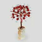 Цветы и флористика handmade. Livemaster - original item Tree of kakholong (milk opal)