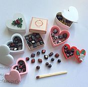 Куклы и игрушки handmade. Livemaster - original item Candy in boxes for Dollhouse miniatures. Handmade.