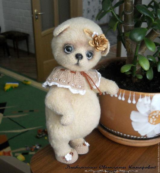 Вязание ручной работы. Ярмарка Мастеров - ручная работа. Купить Тася мишка. Handmade. Комбинированный, техно