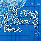 Материалы для творчества handmade. Livemaster - original item chipboard corners 02-152. Handmade.