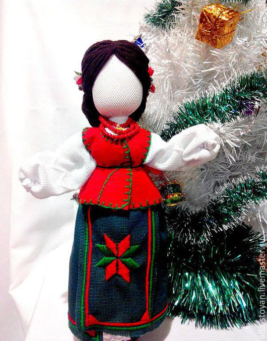 Народные куклы ручной работы. Ярмарка Мастеров - ручная работа. Купить Кукла Святкова. Handmade. Кукла мотанка, кукла интерьерная