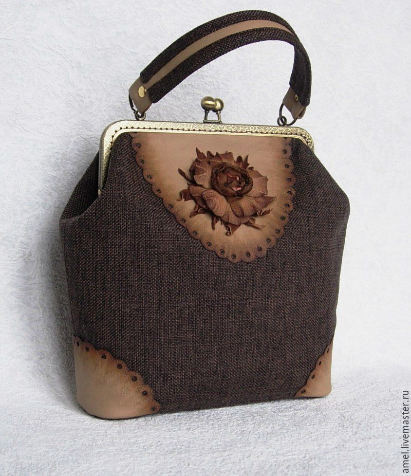 Bag with clasp: Bag ladies 'Parisienne', Clasp Bag, Izhevsk,  Фото №1