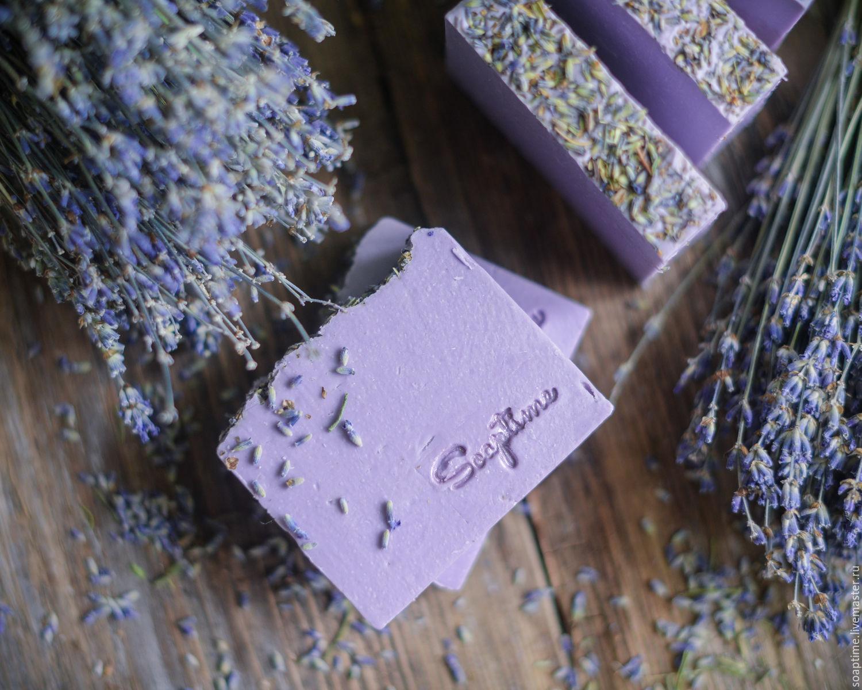 Лавандовое мыло ручной работы рецепт - Подарок на День 39