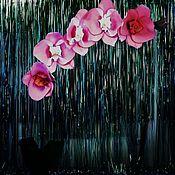Для дома и интерьера handmade. Livemaster - original item Lamp -Orchid. Handmade.