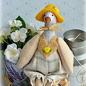 """Куклы и игрушки ручной работы. Ярмарка Мастеров - ручная работа Гусь Тильда """"Рустик"""". Handmade."""
