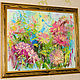 The painting 'Dahlias in the garden of Mae Fah Luang' (oil on canvas). Pictures. Multicolor Gallery. Online shopping on My Livemaster.  Фото №2