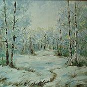 Картины и панно handmade. Livemaster - original item winter. Handmade.