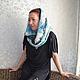Шарфы и шарфики ручной работы. Валяный шарф-снуд Дыхание весны. Nata-Li (Наталия). Интернет-магазин Ярмарка Мастеров.