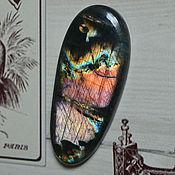 Кабошоны ручной работы. Ярмарка Мастеров - ручная работа Лабрадорит спектролит. Кабошон 57 Х 25 Х 6.5. Handmade.