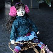Куклы и пупсы ручной работы. Ярмарка Мастеров - ручная работа Будуарная кукла-малышка Элиза. 22 см.. Handmade.