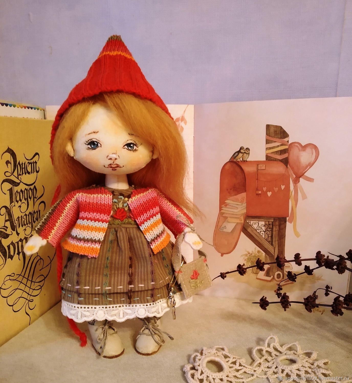 Текстильная куколка, Куклы и пупсы, Москва,  Фото №1