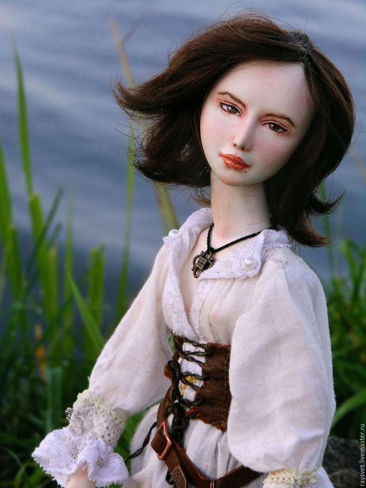 Коллекционные куклы ручной работы. Ярмарка Мастеров - ручная работа. Купить Беренис, авторская кукла, 9 шарниров, 40 см. Handmade.