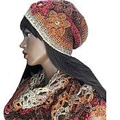 Аксессуары handmade. Livemaster - original item Sets of headgear: Maple syrup set. Handmade.