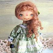 Куклы и игрушки ручной работы. Ярмарка Мастеров - ручная работа Текстильная кукла - Лорушка. Handmade.