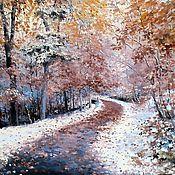 Картины и панно handmade. Livemaster - original item Oil painting Landscape