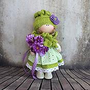 Куклы и игрушки ручной работы. Ярмарка Мастеров - ручная работа Любава, 22 см - интерьерная кукла. Handmade.
