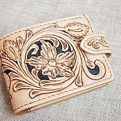 Сумки и аксессуары handmade. Livemaster - original item Women`s purse with a pattern. Handmade.