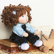Куклы и игрушки ручной работы. Ярмарка Мастеров - ручная работа Рисальдинка Катюша. Handmade.
