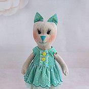 Куклы и игрушки ручной работы. Ярмарка Мастеров - ручная работа Кошка тильда (игровая). Handmade.