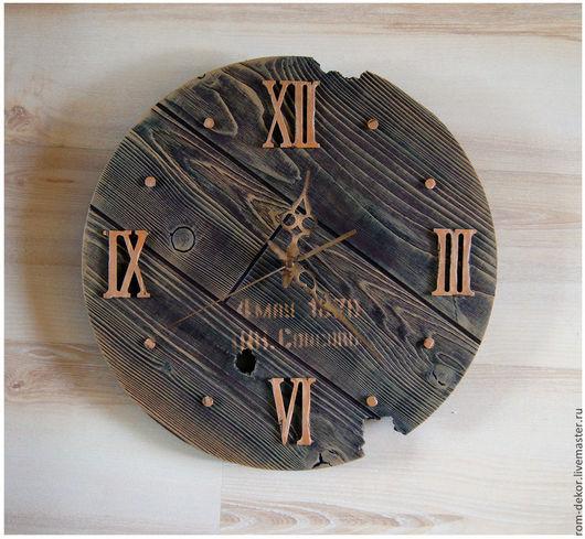 Часы для дома ручной работы. Ярмарка Мастеров - ручная работа. Купить Часы настенные Следы времени. Handmade. время