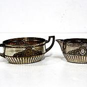handmade. Livemaster - original item WMF Set. Sugar bowl and creamer. Handmade.