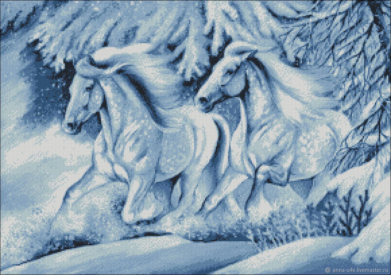 Снежный мираж, Схемы для вышивки, Брянск,  Фото №1