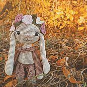 Куклы и игрушки handmade. Livemaster - original item Knitted Bunny handmade. Handmade.