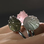 Украшения handmade. Livemaster - original item The rings set