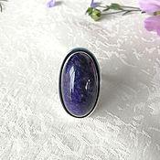 Украшения handmade. Livemaster - original item Ring charoite. Handmade.