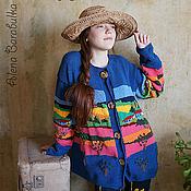 Одежда ручной работы. Ярмарка Мастеров - ручная работа Жакет Мексиканские каникулы. Handmade.
