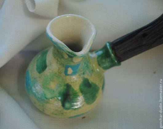 Чайники, кофейники ручной работы. Ярмарка Мастеров - ручная работа. Купить Турка (джезва) керамическая. Handmade. Джезва, джезва керамическая