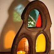 """Для дома и интерьера ручной работы. Ярмарка Мастеров - ручная работа подсвечник """"старый дом"""". Handmade."""