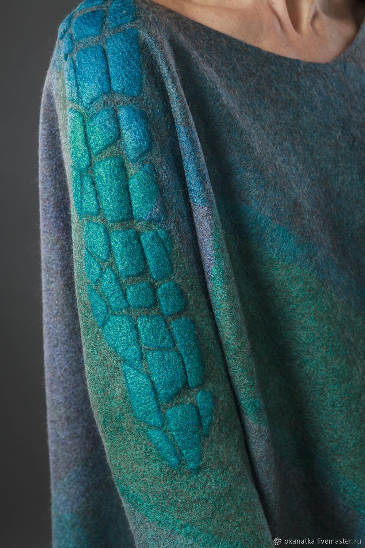Felted dress lizard, Dresses, Moscow,  Фото №1