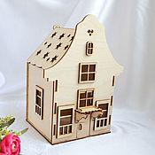 Материалы для творчества handmade. Livemaster - original item Lamp house from Amsterdam, a blank for creativity. Handmade.