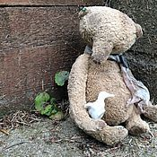 Куклы и игрушки ручной работы. Ярмарка Мастеров - ручная работа Бруно и уточка. Handmade.