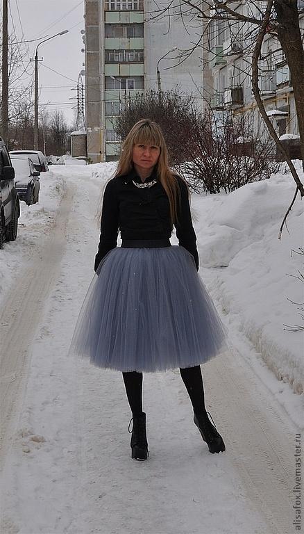 Юбка из сетки фатина мастер класс по пошиву - девочка сделай сам #11