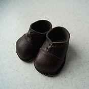 Куклы и игрушки ручной работы. Ярмарка Мастеров - ручная работа Коричневые ботиночки для беби Анабель (Baby Annabell). Handmade.